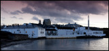 Bowmore Distillery Islay (5 pictures stiched)