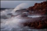Storm building up at Hovs Hallar - Sweden