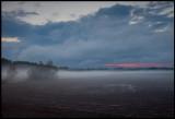 Evening fog in Liminka - Finland