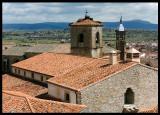 City roofs of Trujillo