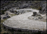 Old roman road in Gredos mountains