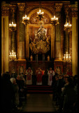 Easter ceremony in San Jose church - Madrid