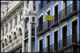 Two beautiful buildings with Hostal Rodriguez