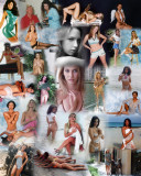 Modern Pin Up Two collage