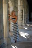 Amy Vitale in fashion shot