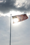 Old Glory Waving in the Wind