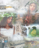 Mother of Nature collage