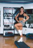 Dancer is training
