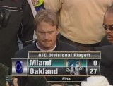 Dolphins at Raiders -  Playoff 01/06/01