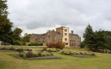 Canons Ashby on a cloudy day