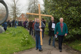 The Rugby Churches Good Friday March of Witness 2012