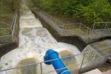 Draycote Water on a murky day