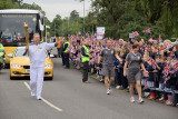 The Olympic Torch at Dunchurch