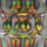 Glass Mug Abstract