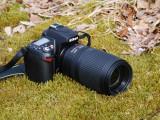 Nikon D90 and Nikon 70-300 mm