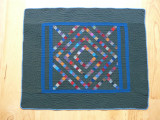 116: Unnamed pattern-Arthur, IL c. 1915-25 37.5 x 30.5
