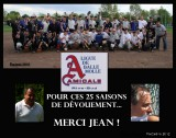 Tournoi balle-molle Amicale 2012