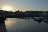 Sunset over St Peter Port