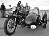 Royal Enfield complete with sidecar