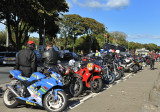 Outside the grandstand, pits Glencrutchery Road, Douglas