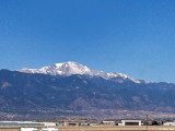 Pikes Peak from KCOS