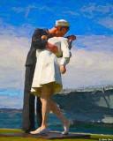 Kissing Sailor and Nurse