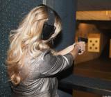 Sami at gun range