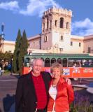 Robin and Lynn at Old Globe