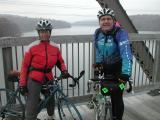The Weekday Cyclist's Ann Shorter with John Chiarella