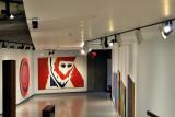 Couloir d'accès du pavillon Claude et Marc Bourgie