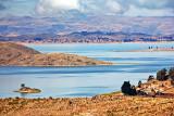 Lake Titicaca, 13,000 feet above sea-level
