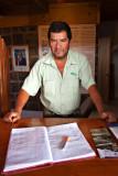 Carlos - Park Ranger - 'Orongo