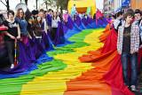 Rainbow Flag Grounded