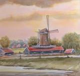 Bolwerksmolen bij Deventer (aquarel) - 0743.jpg