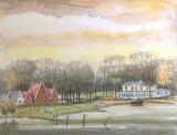 NIET BESCHIKBAAR - IJsselhotel bij Deventer (aquarel) - 0744.jpg