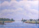 NIET BESCHIKBAAR - Wilhelminabrug Deventer (olieverf) - 0746.jpg