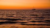 Mindil Beach sunset and ship