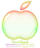 My Drawing ~ Peach Apple