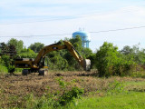 breaking ground for the walmart on erie ave