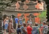 waiting to see Kumari Devi