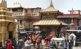 Swayambunath, der Affentempel in Kathmandu, Nepal
