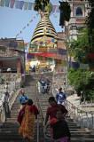 Swayambhunath stupa (aka Monkey Temple)