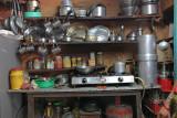 a traditional nepalian kitchen