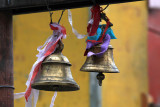 Bells with symbolic colored lace