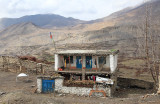 Family house on the way to Muktinath