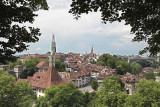 View to the city of Bern