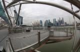 Bridge to Hotel Marina Bay