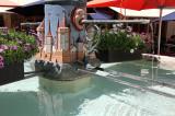 Village fountain in La Neuveville