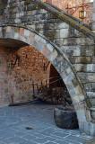 Cart Under Arch