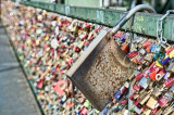 Locks at Cologne Hohenzollern Bridge